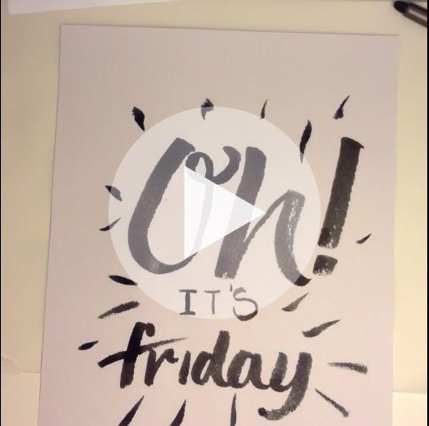 Oh! It's Friday!